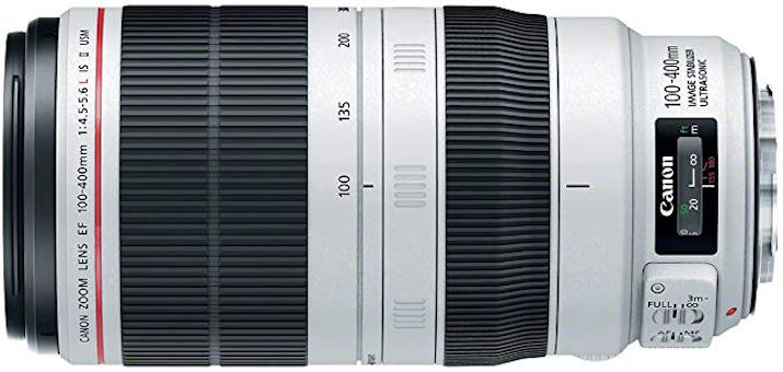 Canon 100 - 400 L f4.5 - 5.6 IS Zoom lens